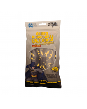 DC Child's Disposable Face Mask (Batman) 10s
