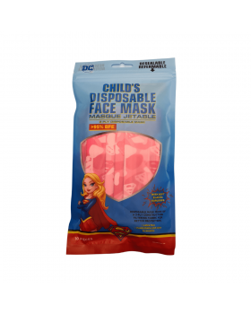 DC Child's Disposable Face Mask (Supergirl) 10s