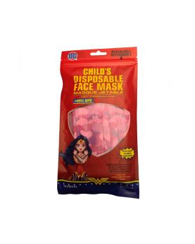 DC Child's Disposable Face Mask (Wonder Woman) 10s